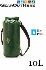 Aqua Quest Mariner 10 - 100% Waterproof Backpack Dry Bag Day Pack 10L - Green