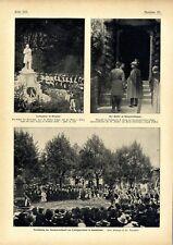 100.Geburtstag Justus v.Liebig Feier in Gießen Herzogin Karl Theodor Bayern 1903