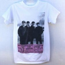 The Beatles Apple Corps Women Small Washington Coliseum Concert 1964 Ticket Tee