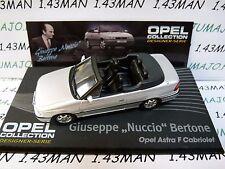 OPE126 1/43 IXO designer serie OPEL collection  ASTRA F cabriolet Nuccio Bertone
