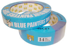 2 Rolls Blue Painters Masking Tape 1 INCH x 60 yds (Talon Tape)