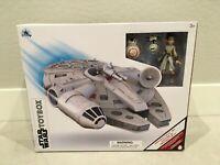 NISB Star Wars Disney Store Millennium Falcon Set  Toybox