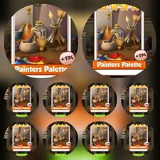 10x Painter Pallete ###  Coin Master  Cards Fastest Delivery