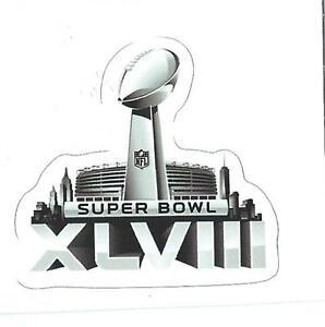 Seattle Seahawks Super Bowl XLVIII Logo Decal