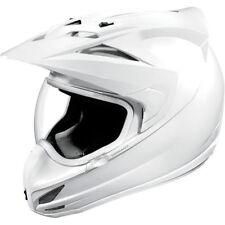 Gloss Boys' & Girls' Fibreglass Plain Motorcycle Helmets