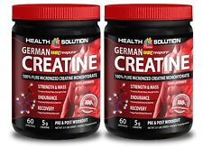 Muscle mass supplement GERMAN CREATINE MONOHYDRATE 300g Increases myosin 2B
