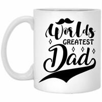 Father's Day Coffee Mug Worlds Greatest Dad Coffee Mugs Gift For Dad On Father's