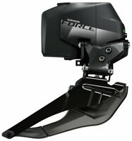 SRAM Force eTap AXS Wide Front Derailleur - 2x12-Speed, Braze-on, Black, D1
