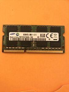 Mémoire RAM SODIMM Samsung 8GB 2Rx8 PC3L-12800S-11-13-F3 M471B1G73QH0-YK0 Testée
