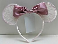 Tokyo Disney Resort  Ribbon Lace Headband Minnie Mouse Pink