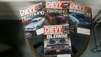 Chevy high performance magazine Sept Oct Nov Dec 2016 lot of 4 magazines