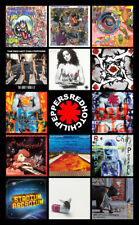 "RED HOT CHILI PEPPERS album discography magnet (4.5"" x 3.5"")"