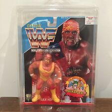 WWF/WWE Hulk Hogan Vintage Hasbro Action Figure 1992 Series 3 MOC with case