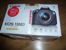 Canon EOS 1300D Kit mit Zubehörpaket - 2 Objektive OVP - NEU + Stativ HAMA TOP