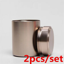 2pcs/set Airtight Smell Proof Container-New Aluminum Herb-Stash-Jar