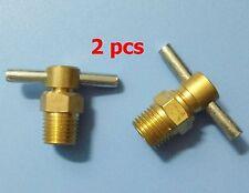 "1/4"" NPT drain valve for air compressor tank, 2 pcs"