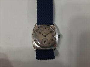 Orologio vintage Levrette uomo donna 29 mm meccanico carica manuale argento 925