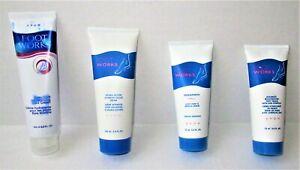 Avon Foot Works - moisturizing lotion, Muscle Rub, Therapeutic Treatment & Cream