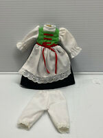 "Antique/Vintage Style 2 pc Vintage Style Doll Dress Fashion for 7"" to 9"" doll #3"
