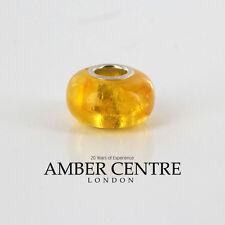 Amber Trolls fits all charm bracelets German Baltic Amber 925 Ag RRP£45!!! CHA12