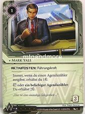 Android Netrunner LCG - 1x Mark Yale  #009 - Ordnung und Chaos