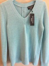 Banana Republic  Sweater Italian Cashmere blend Turquoise Blue Size S Filpucci