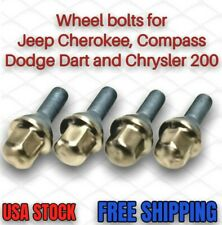 Wheel Lug Bolts for Jeep Cherokee, Compass, Dodge Dart, Chrysler 200 (Set of 4)