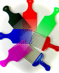 Professional plastic AFRO COMB hair styling/untangling hair African hair black