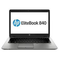 "HP Elitebook 840 G2 Core i3-5010U 2.10GHz 6GB 1TB 14"" LED W10H Laptop Blue Top C"