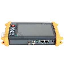 "IPC-9600 7"" Touch Screen POE ONVIF IP&Analogy Camera Test CCTV Monitor Tester T1"