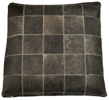 Genuine Cowhide Pillow 50 x 50 CM DARK GRAY CUSHION COVER COWHIDE CUSHION COVER