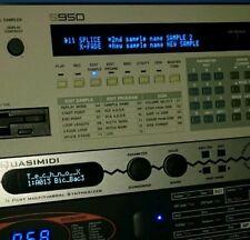 Akai S900 / S950 Custom VF Display !
