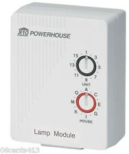 X-10 Powerhouse (LM465) 120V 60Hz 300W Incandescent Max Lamp Module **NEW**