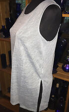 Supre Ladies Large Slate Side Split Tank Top - Brand New with Tags!