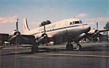 BASLER DC-4  Airplane Postcard
