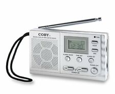 New Coby CX-53 AM/FM Radio With Digital Display and Alarm Clock *