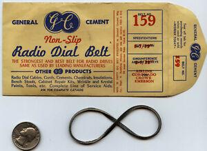 Ailine Coronado Crowe Emerson GC RADIO DIAL BELT NOS Tuning Cord #159.....B