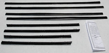 1963-66 DODGE/PLYMOUTH A-BODY CONVERTIBLE WINDOW BELTLINE WEATHERSTRIP KIT 8PCS