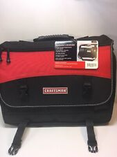 NEW Professional Craftsman Heavy Duty Contractor's Briefcase Messenger Bag Large