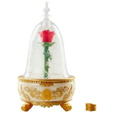 Beauty And The Beast Enchanted Rose Cup Disney Box Disneyland With Light Stand