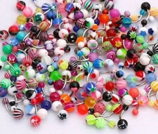 Lot 51 x Belly Button Navel Ring Bar Bars Body Piercing Jewellery Rings Makeup