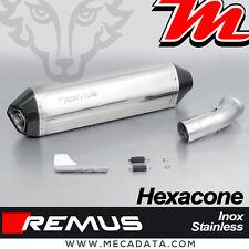Silencieux Pot échappement Remus Hexacone inox sans cat BMW K 1200 GT 2008