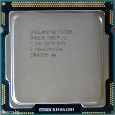 Intel Core i3 530 - 2.93 GHz CPU de doble núcleo sin caja de garantía sólo