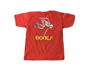 Powell Peralta Bones Skateboard T Shirt Size Large