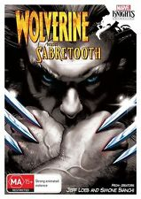 Marvel Knights - Wolverine Vs. Sabretooth (DVD, 2014)-FREE POSTAGE