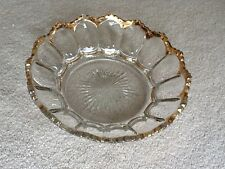 Heisey Colonial Large Fruit Bowl w/Gold Trim, circa 1897 - REDUCED TO SELL
