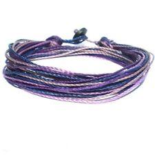 Bracelet Wrap Strap Purple Lilac Bangle Friendship