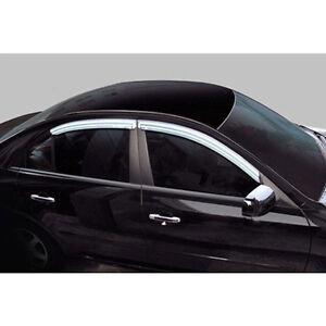 Chrome Window Visor Vent 4p For Hyundai 2001 2006 Santa Fe