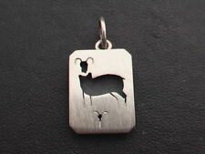 Zodiac Pendant Top (Aries) 925 Sterling Silver