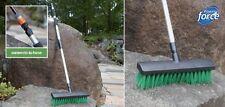 Gagitech ™ ACQUA FED decking giardino Spazzola della SCOPA su disattivabile si connette a tubo